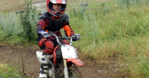 Campamento motocross