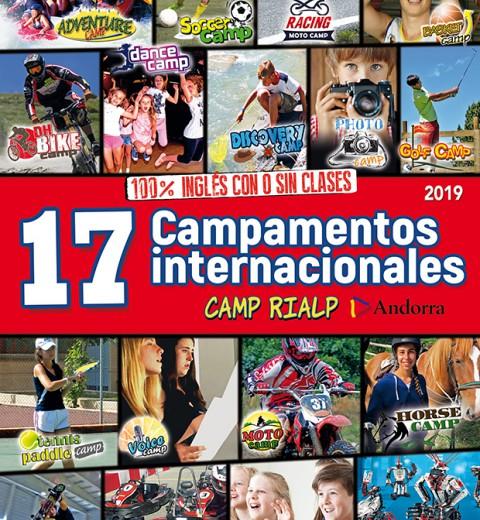 17 Campamentos internacionales de verano